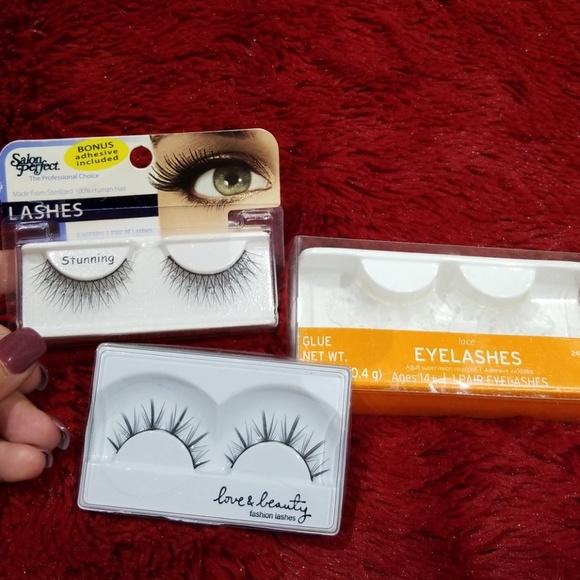 Salon Perfect Makeup 3 Sets Exotic False Eyelashes Poshmark